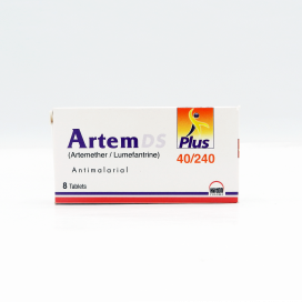 Artem DS Plus Tab 40mg/240mg 8s