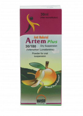 Artem Plus Dry Susp 30mg/180mg 30ml