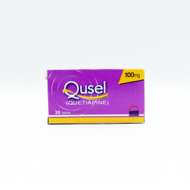 Qusel Tablet 100mg 20s