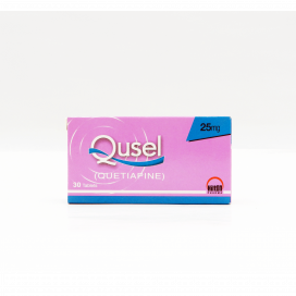 Qusel Tablet 25mg 30s