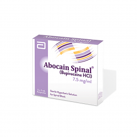 Abocain Spinal Injection 7.5mg 5Ampx2ml