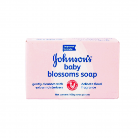 Johnsons Baby Blossoms Soap 100g