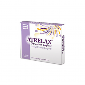 Atrelax Injection 25mg 5Ampx2.5ml