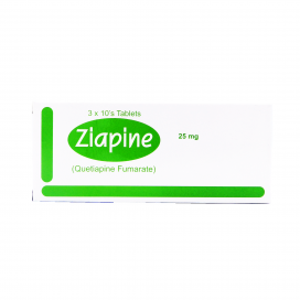 Ziapine Tablet 25mg 30s