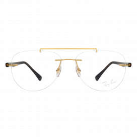 Ray-Ban Three Piece Frame Gold Brown - RB 87491194