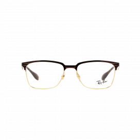 Ray-Ban Club Master Frame Gold Brown - RB 63442917