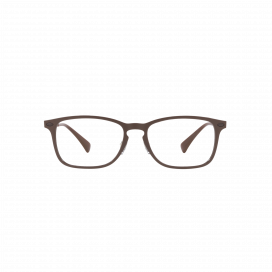 Ray-Ban Square Frame Matte Brown - RB 89538028
