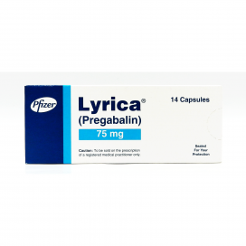 Lyrica Cap 75mg 14s