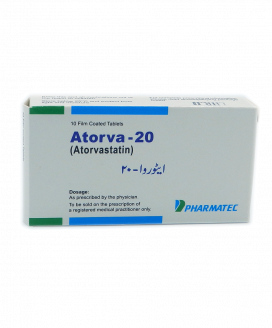 Atorva Tablet 20mg 10s