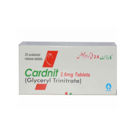 Cardnit Tablet 2.6mg 30s