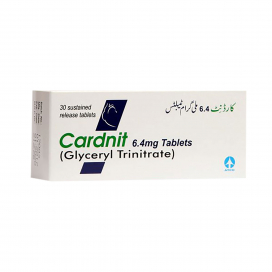 Cardnit Tablet 6.4mg 30s