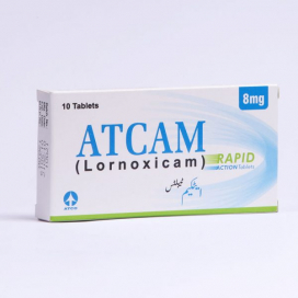 Atcam Rapid Action Tab 8mg 10s