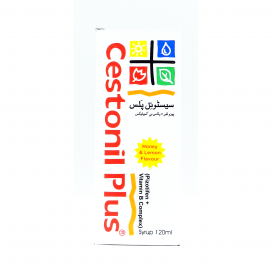 Cestonil Plus Syp 120ml