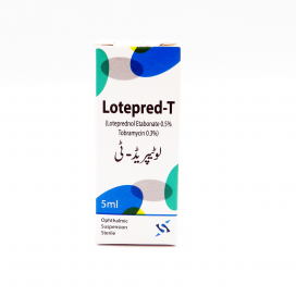 Lotepred-T Ophthalmic Susp 5ml