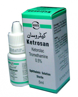 Ketrosan Ophthalmic Sol 0.5% 5ml