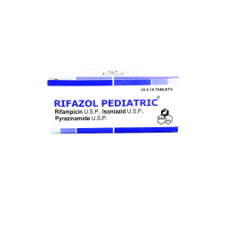 Rifazol Pediatric Tab 10x10s