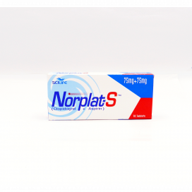 Norplat-S Tablet 75mg/75mg 10s