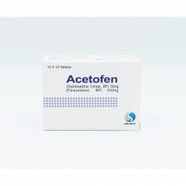 Acetofen Tab 35mg/450mg 100s