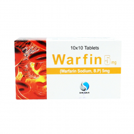 Warfin Tablet 5mg 100s