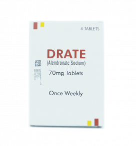 Drate Tablet 70mg 4s