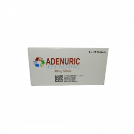 Adenuric Tablet 40mg 20s