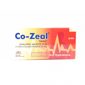 Co-Zeal Tablet 10mg/25mg 20s