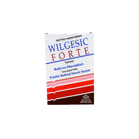 Wilgesic Forte Tablet 650mg/50mg 100s