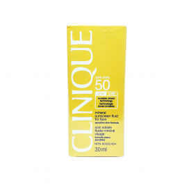 Clinique Mineral Sunscreen Fluid For Face SPF 50 30ml