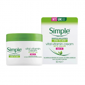 Simple Vital Vitamin Cream Day 50ml