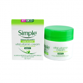 Simple Vital Vitamin Cream Restore & Replenish 50ml