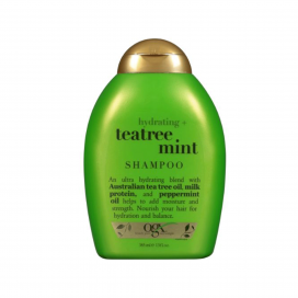 Ogx Hydrating Plus Tea Tree Mint Shampoo 385ml