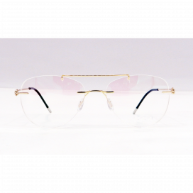 Three Piece Aviator Frame Gold - NS6046/N.O