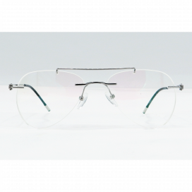 Three Piece Aviator Frame Grey - NS6046/N.O
