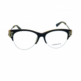 Fancy Rimless Frame Two Tone Brown - MOD3226-B1402/N.O