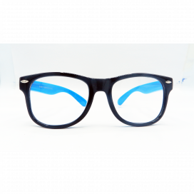 Kids Square Frame Black Blue - 8196 C18/N.O