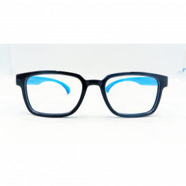 Kids Square Frame Black Blue - S 8224 P/N.O