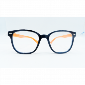 Kids Square Frame Black Orange - S 8113 P C17/N.O