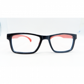 Kids Square Frame Black Red - KF 1540/N.O