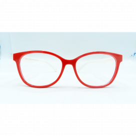 Kids Square Frame Red White - S 8142 P C6/N.O