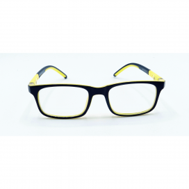 Kids Square Frame Black Yellow - S 8144 P C16/N.O