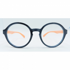 Kids Round Frame Black Orange - S 8143 P C17/N.O