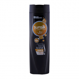 Sunsilk Stunning Black Shine Shampoo 185ml
