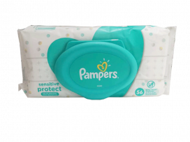 Pampers Baby Wipes Sensitive 56s
