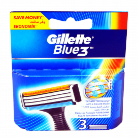 Gillette Blue3 Cart 3s