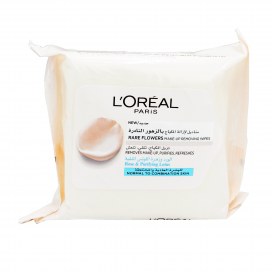 Loreal Paris Rare Flowers Makeup Removing Wipes Normal To Combination Skin