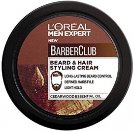 Loreal Men Expert Barber Club Beard And Hair Styling Cream 75ml