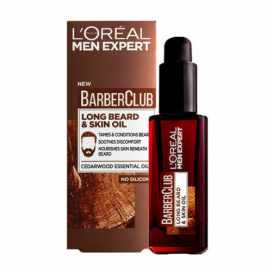 Loreal Men Expert Barber Club Long Beard And Skin Oil 30ml