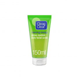 Clean & Clear Morning Energy Shine Control Daily Facial Scrub 150ml