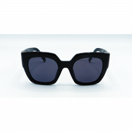 Marc Jacobs Square Sun Glasses Black Frame Black Lens - MARC 110/S 8071R