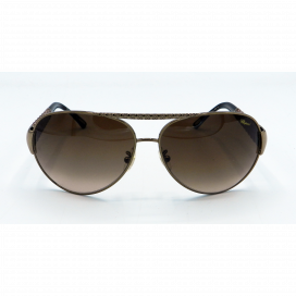 Chopard Aviator Sun Glasses Brown Frame Two Tone Brown Lens - SCH 994 0R 80